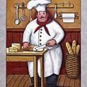 Chef 3 Art Print