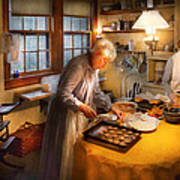 Chef - Kitchen - Coming Home For The Holidays Art Print