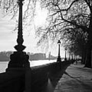Chelsea Embankment London Uk 5 Art Print