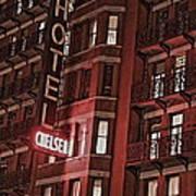 Chelsea Hotel Art Print