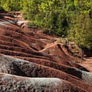 Mars On Earth - Cheltenham Badlands Ontario Canada Art Print