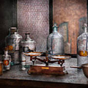 Chemist - The Art Of Measurement Art Print by Mike Savad