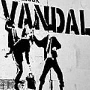 Chequebook Vandal Art Print