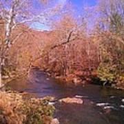 Cherokee River Art Print