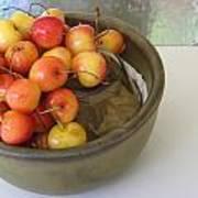 Cherries And Glass Filler Art Print