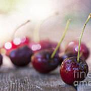 Cherry Delites Art Print