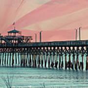 Cherry Grove Fishing Pier Art Print