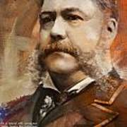 Chester A. Arthur Art Print by Corporate Art Task Force