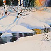 Chester Creek Shadows Art Print