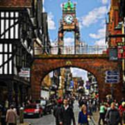 Chester Eastgate Clock Art Print