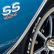 Chevelle Ss 454 Badge Art Print