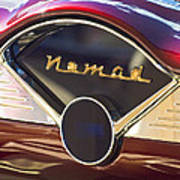 Chevrolet Belair Nomad Dashboard Art Print