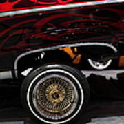 Chevrolet Caprice Lowrider - 5d20241 Art Print by Wingsdomain Art and Photography
