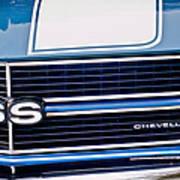 Chevrolet Chevelle Ss Grille Emblem 2 Art Print