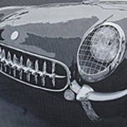 Chevrolet Corvette 1954 Art Print