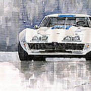 Chevrolet Corvette C3 Art Print