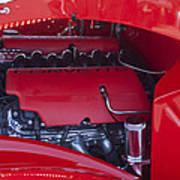Chevrolet Corvette Engine Art Print