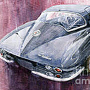 Chevrolet Corvette Sting Ray 1965 Art Print