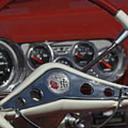 Chevrolet Impala Steering Wheel Art Print