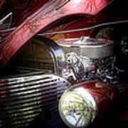 Chevrolet Master Deluxe 1939 Art Print