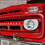 Chevy Beaumont Fire Museum Tx Art Print