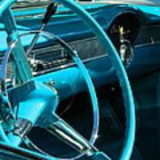 Chevy Bel Air Interior  II Art Print