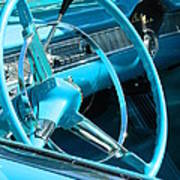 Chevy Bel Air Interior  Art Print