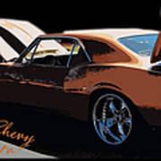 Chevy Camaro 67 Art Print