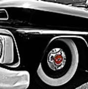 Chevy Truckin Art Print