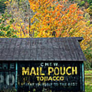 Chew Mail Pouch 2 Art Print