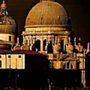 Chiaroscuro Venice Art Print