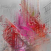 Chicago 2 Art Print by Soumya Bouchachi