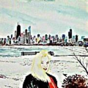 Chicago 2008 Art Print