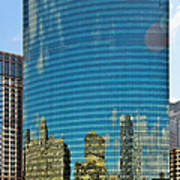 Chicago - 333 West Wacker Drive Print by Christine Till