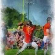 Chicago Bears Qb Jay Cutler Training Camp 2014 Pa 01 Art Print