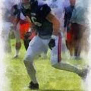 Chicago Bears Te Zach Miller Training Camp 2014 Pa 01 Art Print