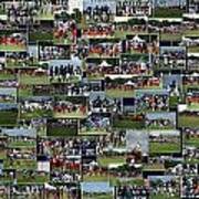 Chicago Bears Training Camp 2014 Collage The Players Art Print