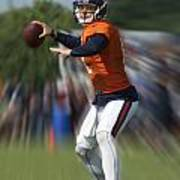 Chicago Bears Training Camp 2014 Moving The Ball 06 Art Print