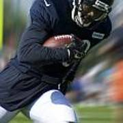 Chicago Bears Training Camp 2014 Moving The Ball 09 Art Print