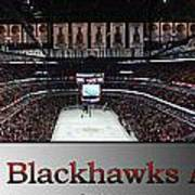 Chicago Blackhawks At Home Panorama Sb Art Print