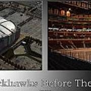 Chicago Blackhawks Before The Gates Open Interior 2 Panel Sb Art Print