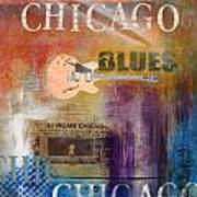 Chicago Blues Art Print