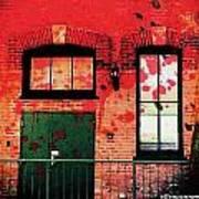 Chicago Brick Facade 21st. Century Art Print