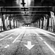 Chicago Wells Street Bridge Picture Art Print