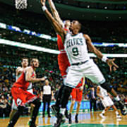 Chicago Bulls V Boston Celtics Art Print