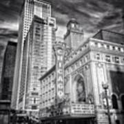 #chicago #chicagogram #chicagotheatre Art Print