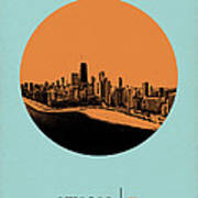 Chicago Circle Poster 2 Art Print