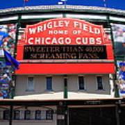 Chicago Cubs - Wrigley Field Art Print