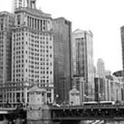 Chicago Downtown 2 Art Print