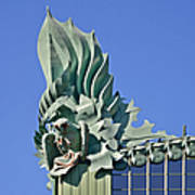Chicago - Harold Washington Library Art Print by Christine Till